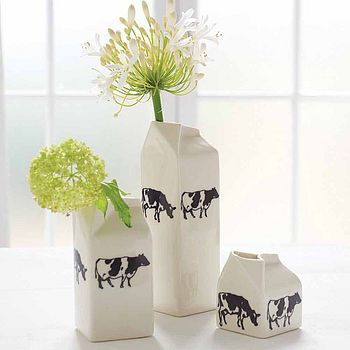 Cows Porcelain Milk Jug