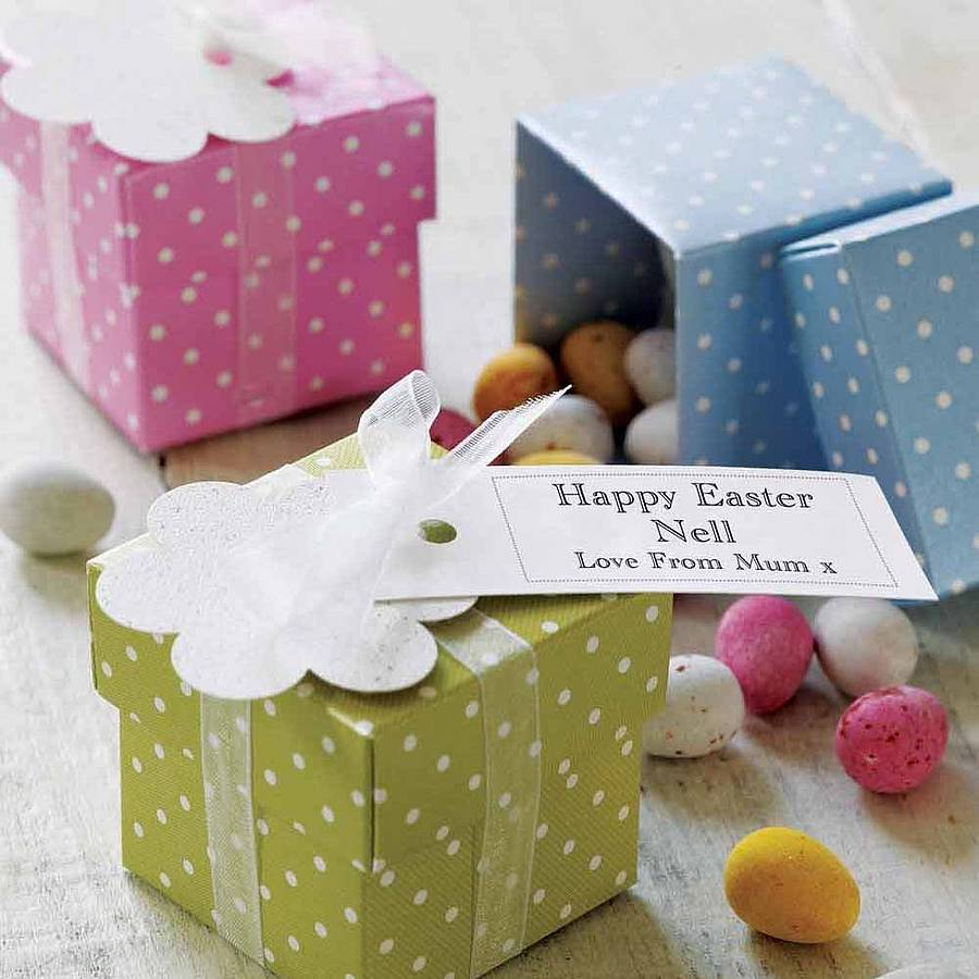 Personalised easter egg chocolate box by tailored for Design your own egg boxes