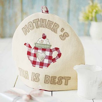 personalised mother's day tea cosy