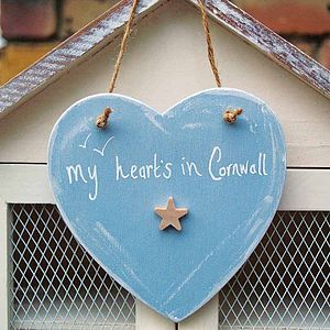 'My Heart's In...' Personalised Sign - home accessories