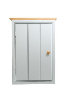 Cottage Wall Cabinet - Blue/Grey