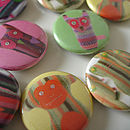 Animal Badge Set