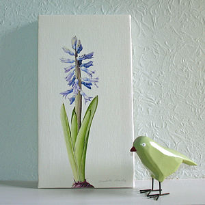 'Hyacinth' Canvas Print - home accessories