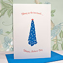 'Day Off' Letterpress Mother's Day Card