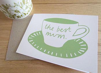 'The Best Mum' Card
