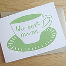 'The Best Mum' Card
