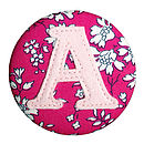 Initial Badge For Girls