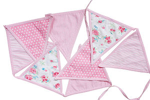 Girls Bunting - baby's room