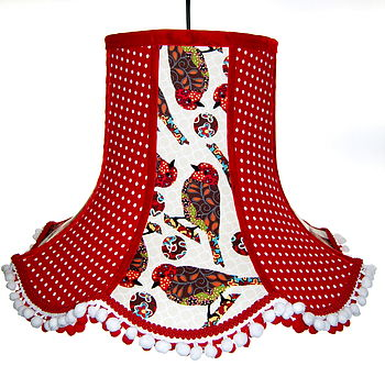 Robin Patchwork Lampshade