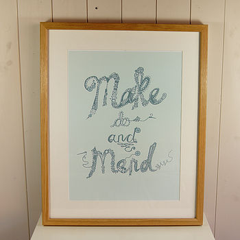'Make do and Mend' Open Edition Print