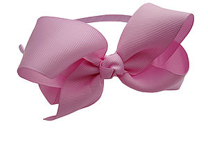 Traditional Bow Headband - bridesmaid accessories