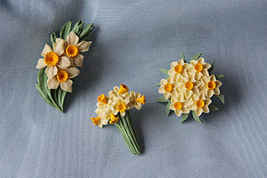 Daffodil Brooch - pins & brooches