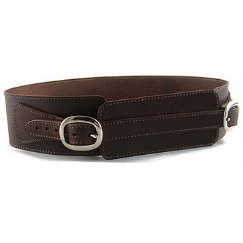 Hand Crafted Brown Leather Belt