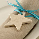 Top Table Star Wedding Favour