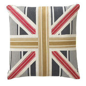 Union Jack Vintage Style Floor Cushion - beds & sleeping