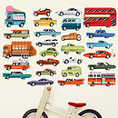 Highway Fabric Wall Stickers