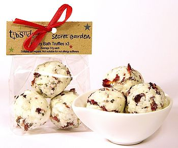 'Secret Garden' Bath Truffles