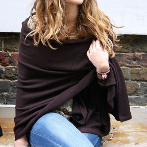 100% Cashmere Wrap - for keeping cosy