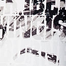 'I Believe' Typographic Fine Art