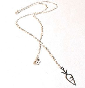 Hungry Bunny Necklace - women's jewellery