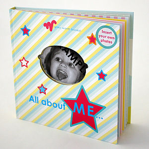 'All About Me' Baby Album