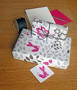 Moon Woods Gift Wrap Set