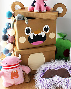 Large Storage Box Chicken Bunny Bear - storage & organisers