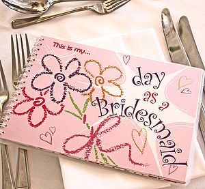 'My Day As A Bridesmaid' Activity Book - stationery