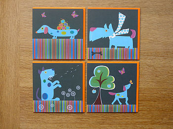 Walkies Greeting Card - Single Or Pack