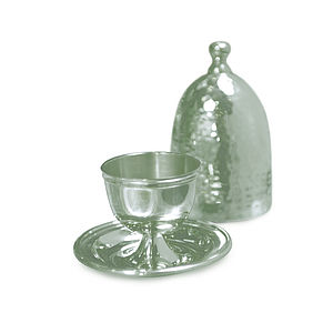Silver Plated Egg Cup - dining room