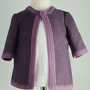 Bamboo Cardigan: Girls gypsum