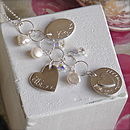 Personalised Mother's Charm Necklace