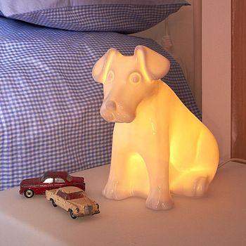 Puppy Lamp