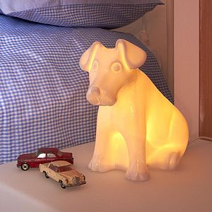 Puppy Lamp - children's room