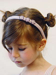 Handmade Hair Accessories: Hairband - for children