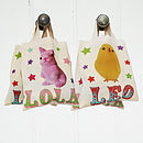 Personalised Easter Hunt Bags