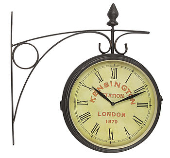 London Station Wall Clock