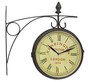 London Station Wall Clock - bedroom