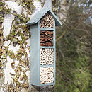 Handmade Four Tier Bee Hotel