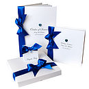 Allure Crystal Wedding Invitation: Boxed