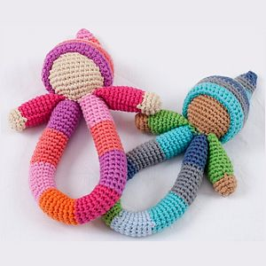 Fairtrade Hand Hoop Rattle - rattles & teethers