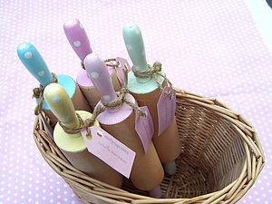 Handpainted Mini Rolling Pins - gifts for bakers