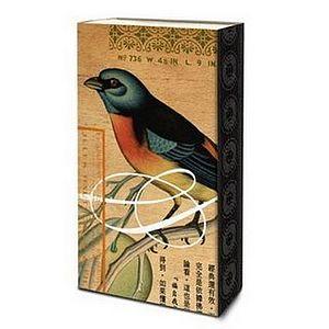 Flora & Bird Matchboxes - fireplace accessories