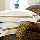 Mono Egyptian Cotton Pillowcase