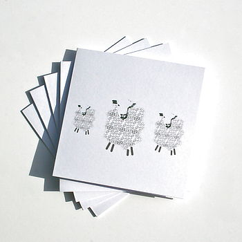 Sheep Notelet Set