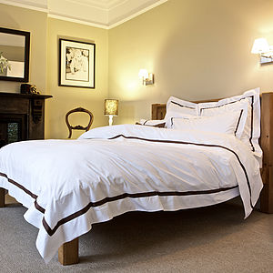 Mono Egyptian Cotton Duvet Cover - bed, bath & table linen