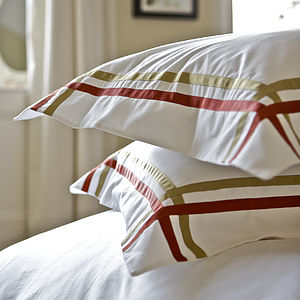 Duo Egyptian Cotton Pillowcase - living & decorating