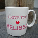 Personalised Mother's Day Mug And Chocolates
