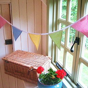 Spring Gingham Bunting - Can Be Personalised