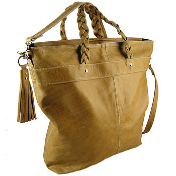 Handcrafted 'Carly' Luxury Shopper